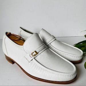 New Vintage 70s Florsheim Imperial Slip On Loafers